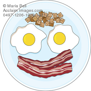 Breakfast clipart bacon egg. And eggs image