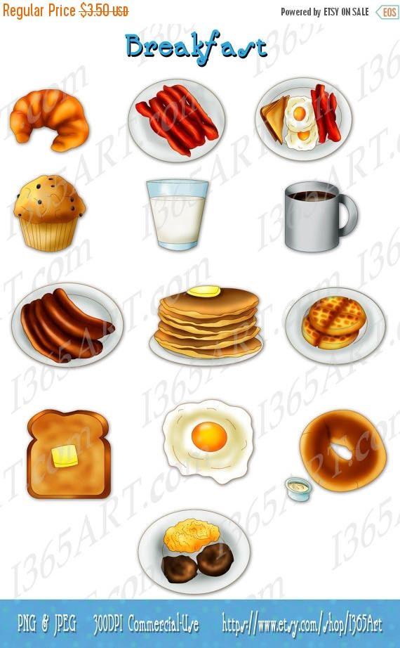 Breakfast clipart bacon egg. Clip art morning breakast