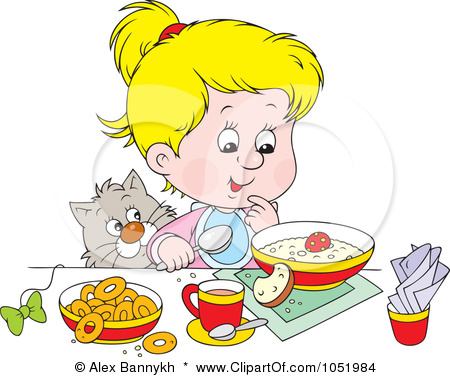 Time pencil and in. Breakfast clipart boy