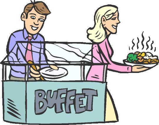 brunch clipart breakfast buffet
