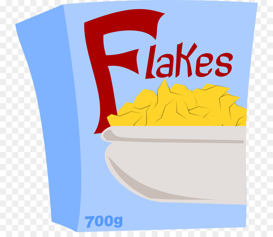 Cereal clipart boxed. Breakfast corn flakes milk
