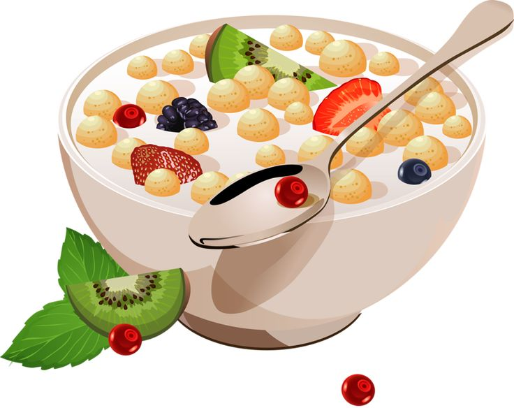 Cereal clipart cold cereal.  best brekfast food