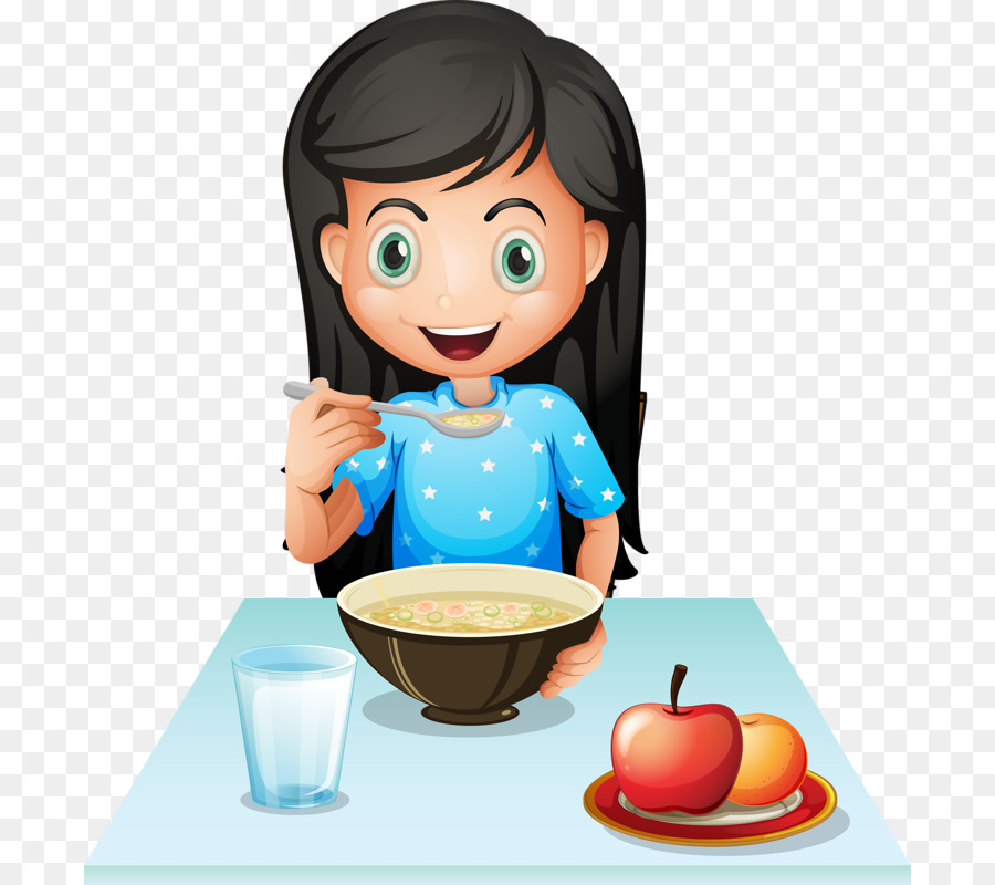 Cereal clipart child. Breakfast eating fast food
