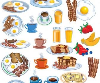 Breakfast clipart breakfast food. Free collection clip art