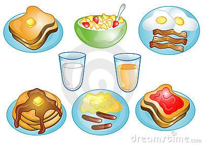 Breakfast clipart breakfast food.  clip art clipartlook