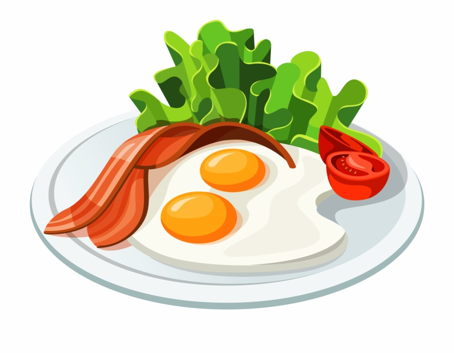 Breakfast clipart breakfast meal. Food graphics transparent background