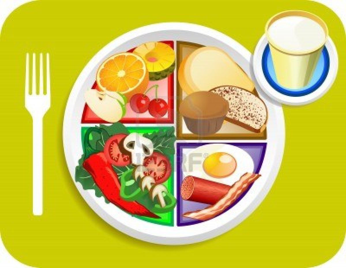 Breakfast clipart breakfast meal. Food dish pencil and