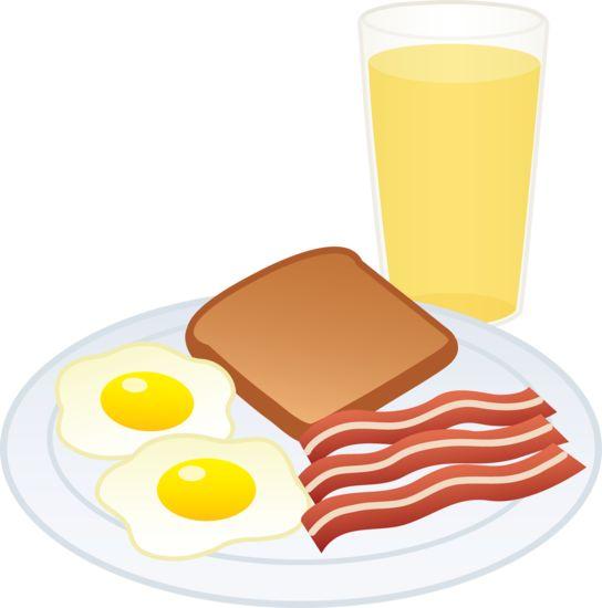 Breakfast clipart breakfast meal.  best brekfast food