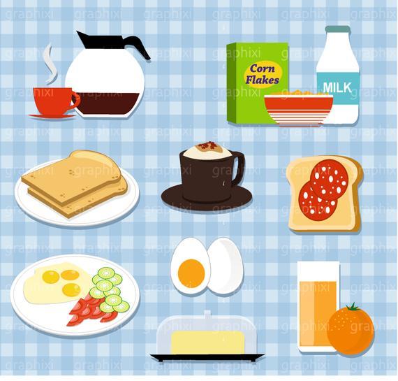 Vector sandwich . Breakfast clipart breakfast meal