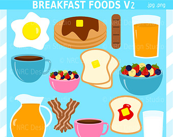 Party free . Breakfast clipart breakfast meal