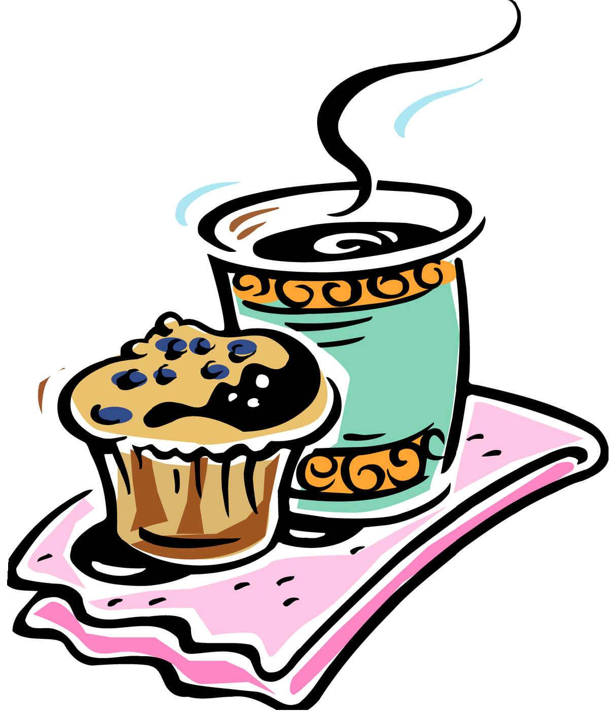 Clipart coffee spring. Breakfast meeting clip art