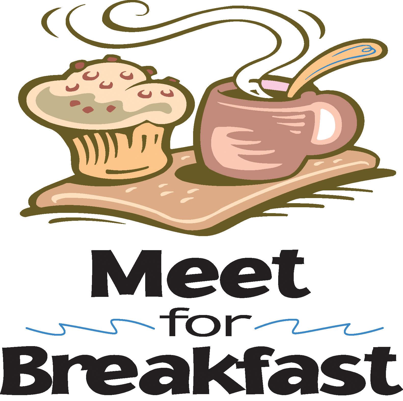 Breakfast meeting. Brunch clipart church