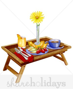 Breakfast clipart breakfast table. For mom mother s