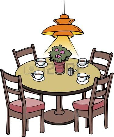 Clipground free . Breakfast clipart breakfast table