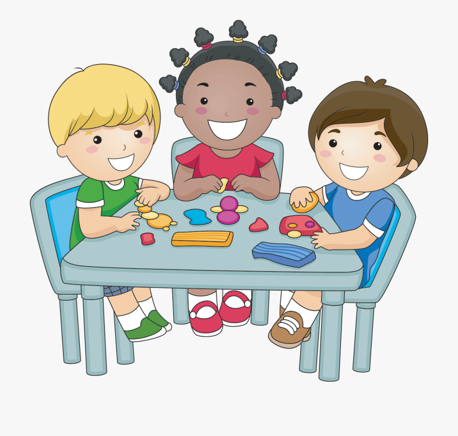 Playdough clipart nice kid. Children eating breakfast kids