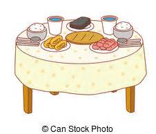 Breakfast clipart breakfast table. Dining clip art and