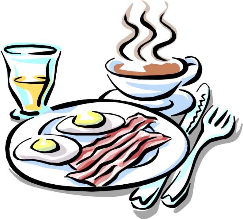 Breakfast time clip art. Brunch clipart cartoon