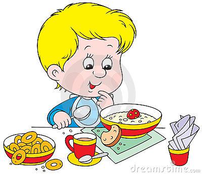 Breakfast clipart breakfast time. Steemit