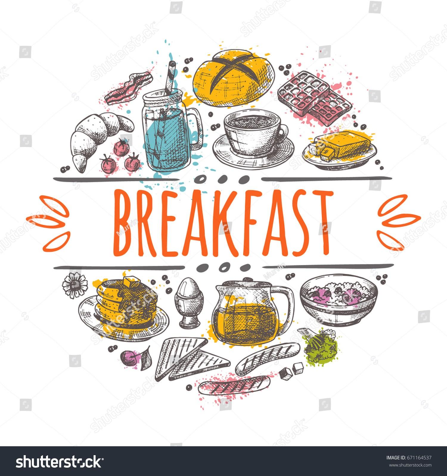 Portal . Breakfast clipart breakfast time
