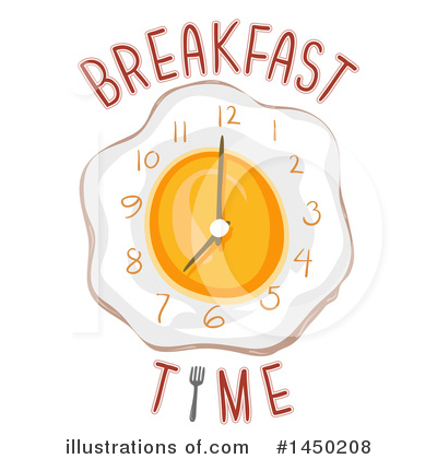 Illustration by bnp design. Breakfast clipart breakfast time