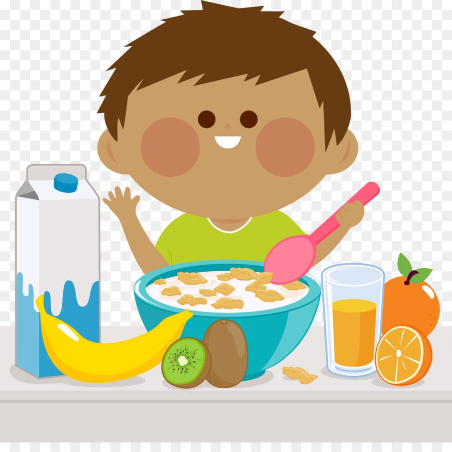 Child illustration food . Breakfast clipart cartoon