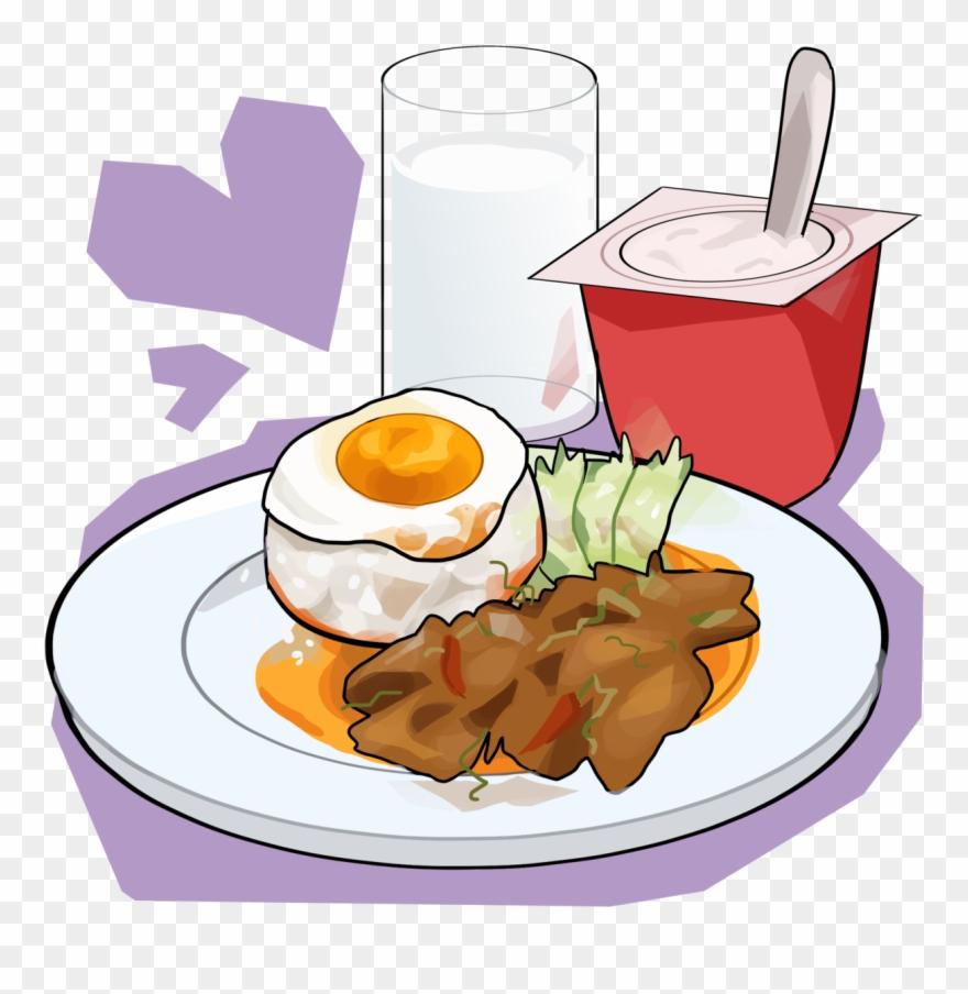 Transparent food tumblr png. Breakfast clipart cartoon