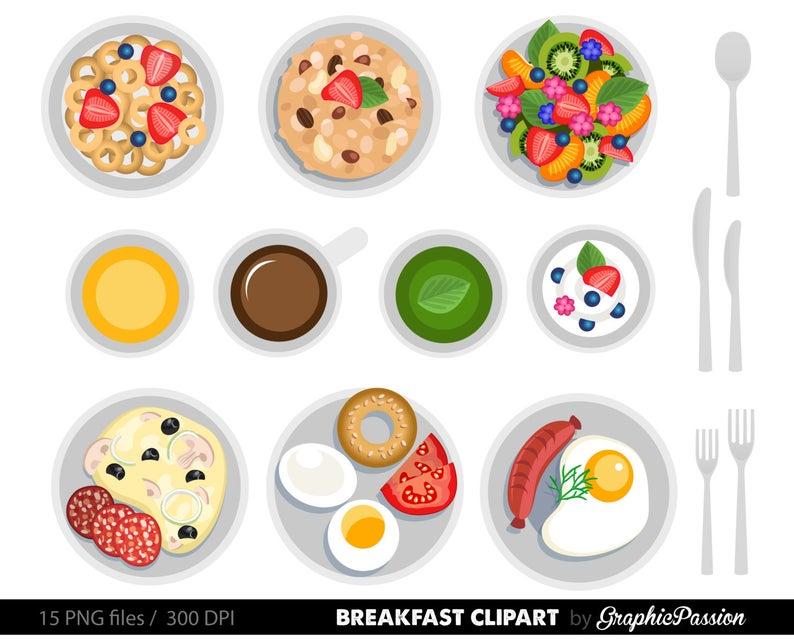 Food cake clip art. Breakfast clipart dessert