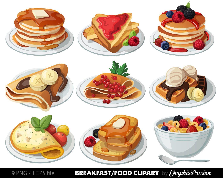 breakfast clipart dessert