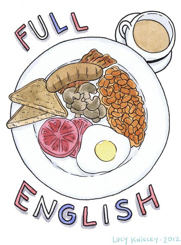 brunch clipart english breakfast