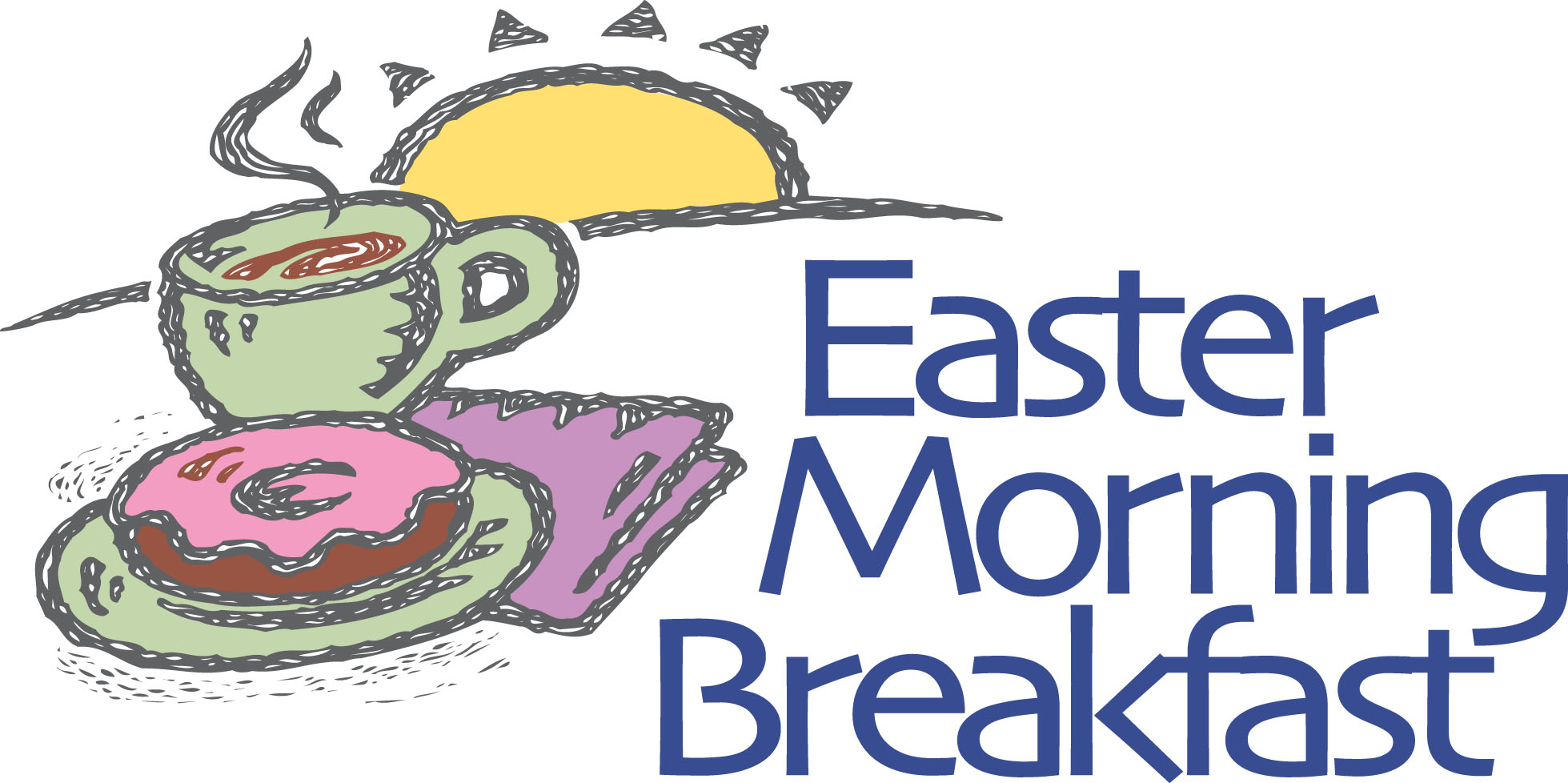 Breakfast boo hoo community. Easter clipart worship