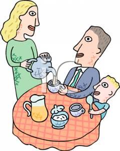 . Breakfast clipart family