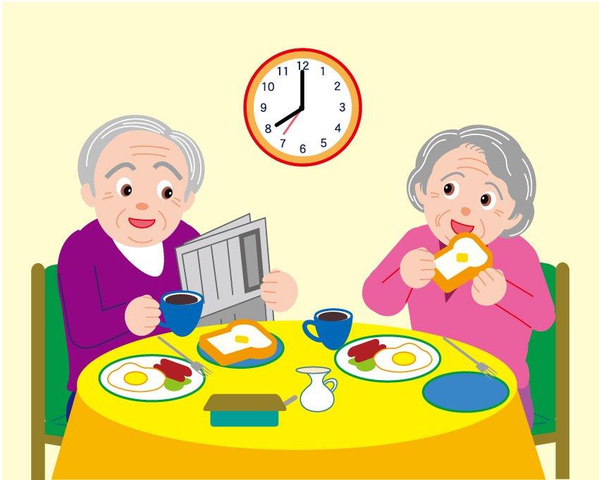 breakfast clipart grandparent