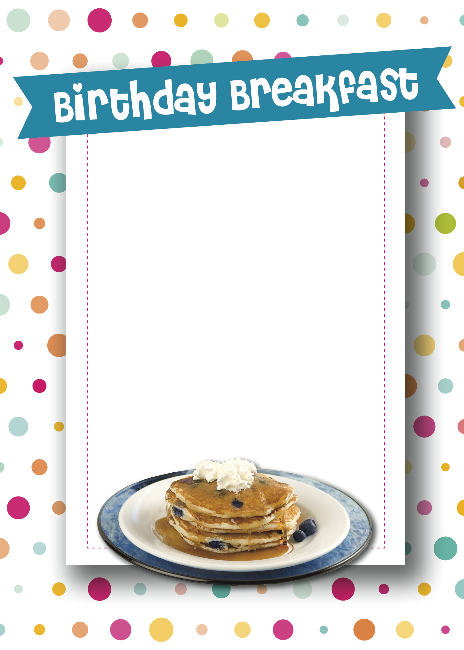 Free cliparts download clip. Clipart birthday breakfast