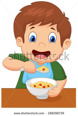 Very attractive design eat. Breakfast clipart kid
