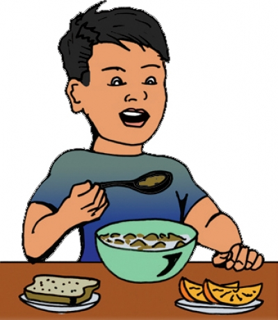Eat free cliparts suggest. Breakfast clipart kid