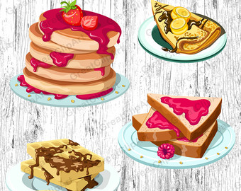 off pancake clip. Breakfast clipart office