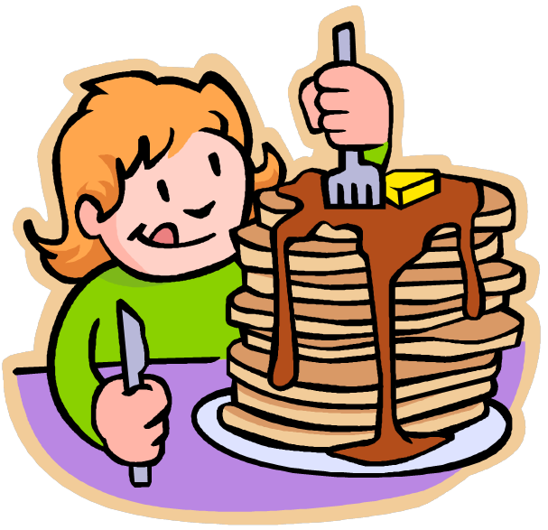 Raffle clipart breakfast basket. Pancake free download