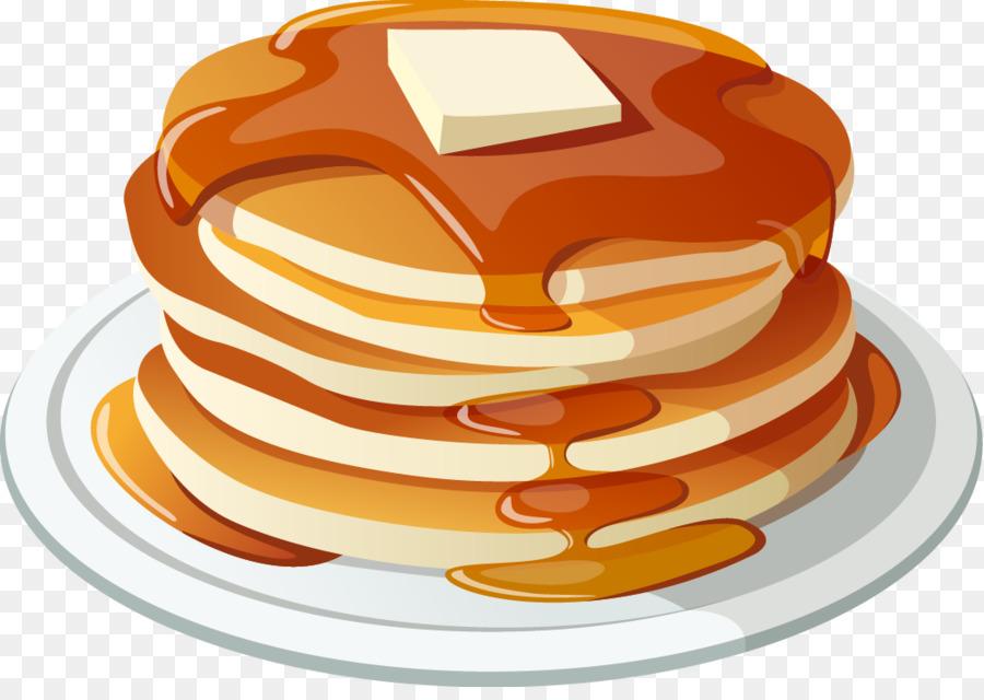 Pancake clip art food. Bacon clipart balanced breakfast