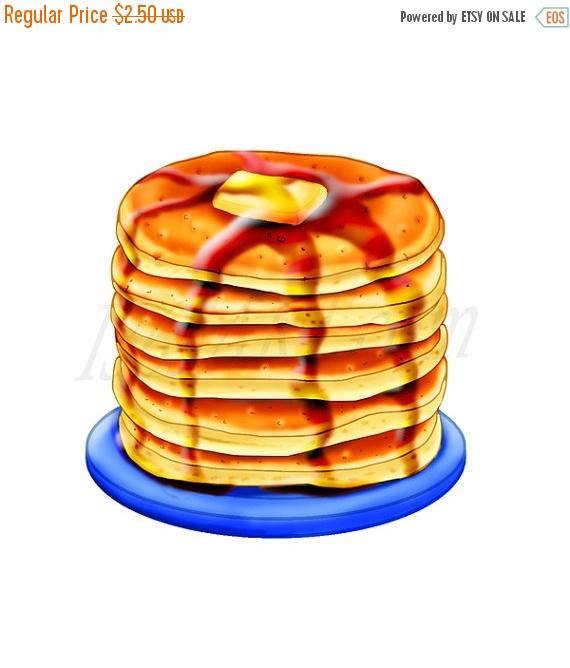 off pancake clip. Pancakes clipart