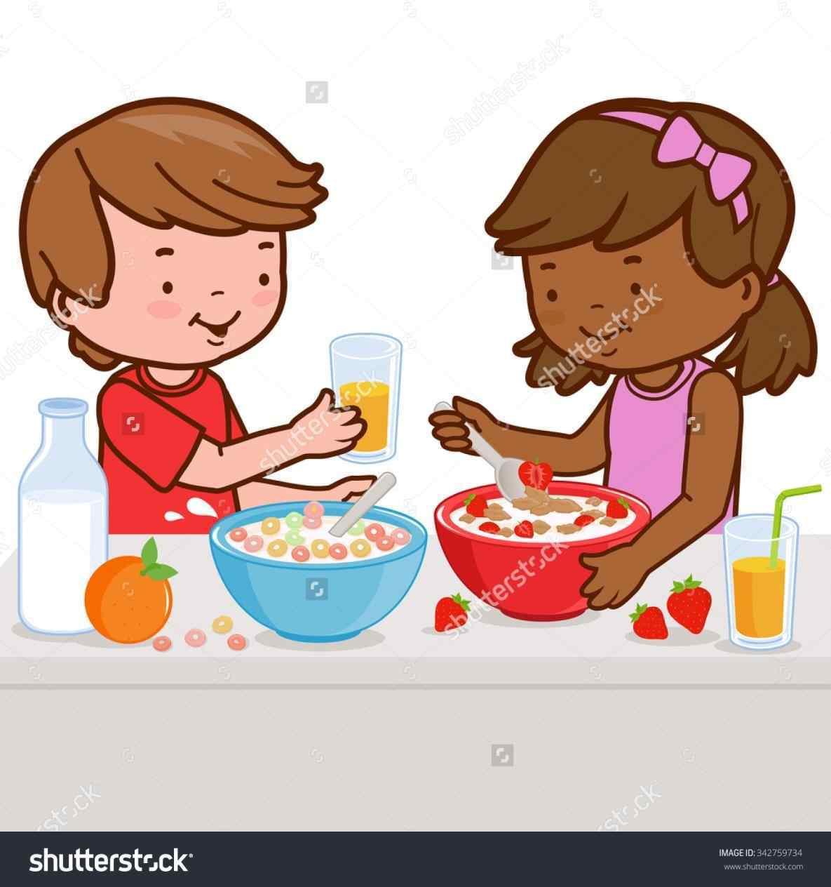 Breakfast clipart preschool. Healthy nutrient pencil and