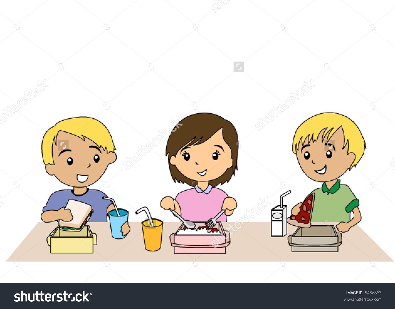 Cliparts making the web. Breakfast clipart preschool