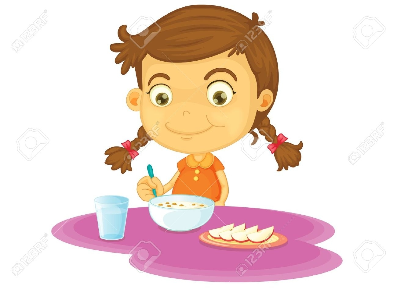 Awesome eating collection digital. Breakfast clipart student