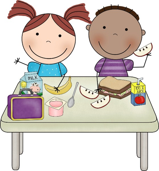 Eating clip art library. Breakfast clipart student