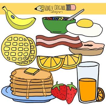 Breakfast clipart teacher. By namely original designs