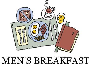 Breakfast clipart text. Mens