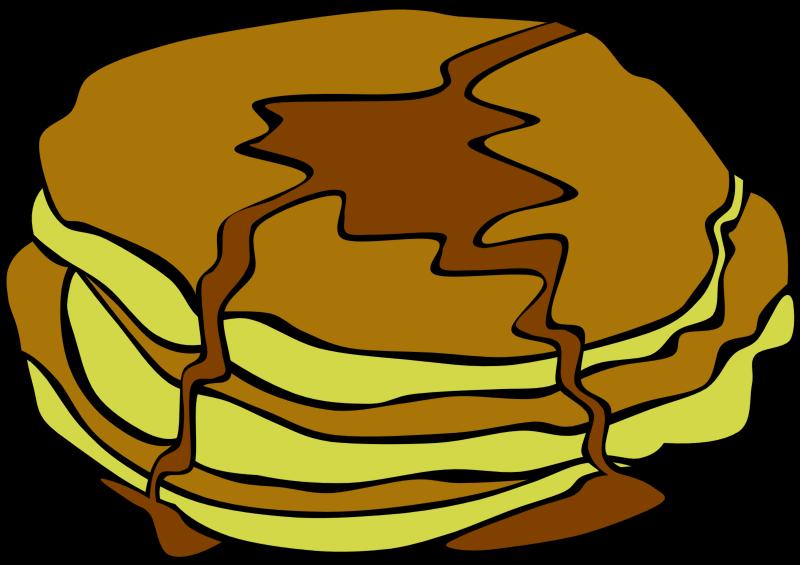 Foods clipart music. Fast food breakfast pancakes