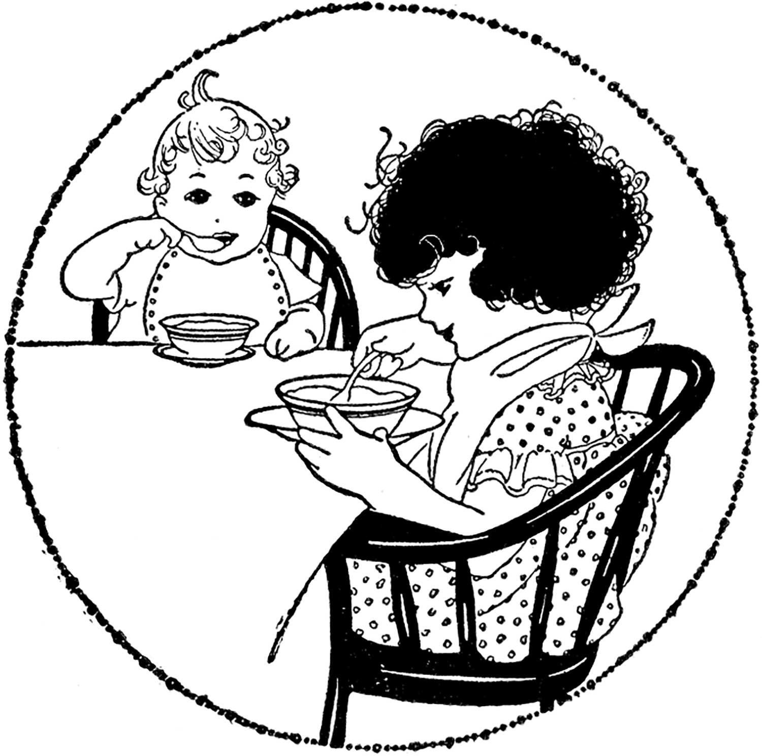 Breakfast clipart vintage. Time image the graphics