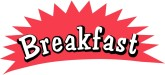 Breakfast clipart word. Customize art clip and