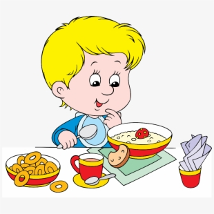 Free eat cliparts silhouettes. Breakfast clipart youth