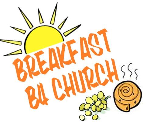 Breakfast clipart youth. B church all august